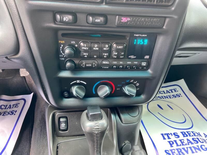2002 Chevrolet Camaro Z28 2dr Convertible - Westford MA