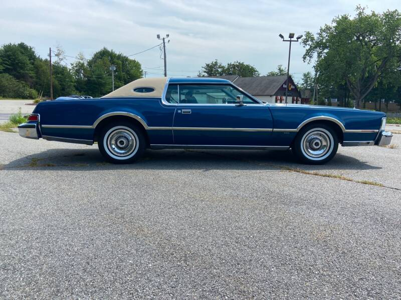 1976 Lincoln Mark IV Bll Blass - Westford MA