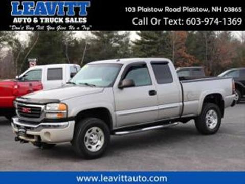 2004 GMC Sierra 2500HD for sale in Plaistow, NH