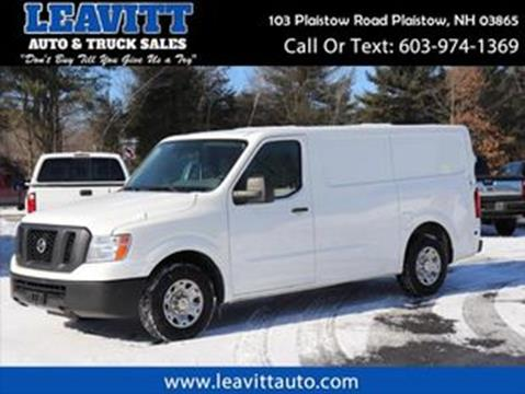 2012 Nissan NV Cargo for sale in Plaistow, NH
