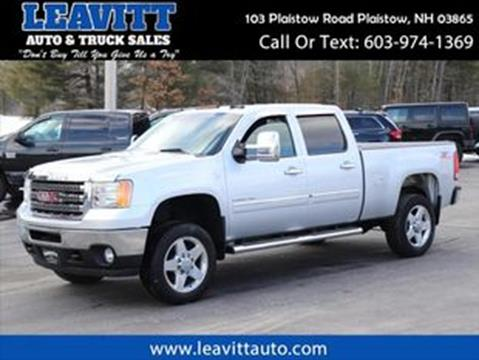 2014 GMC Sierra 2500HD for sale in Plaistow, NH