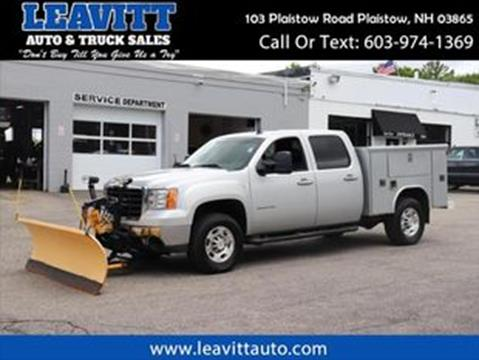 2010 GMC Sierra 2500HD for sale in Plaistow, NH