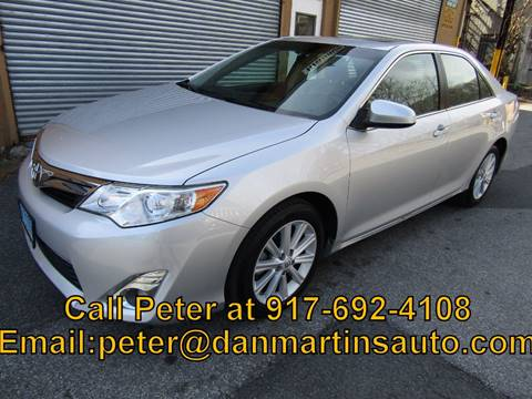2014 Toyota Camry XLE for sale at Dan Martin's Auto Depot LTD in Yonkers NY