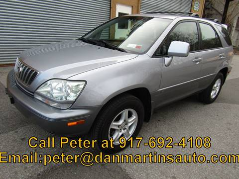 2002 Lexus RX 300 for sale at Dan Martin's Auto Depot LTD in Yonkers NY