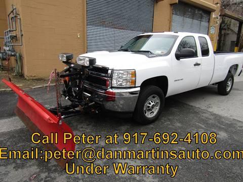 2011 Chevrolet Silverado 2500HD Work Truck for sale at Dan Martin's Auto Depot LTD in Yonkers NY