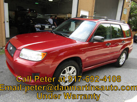 2007 Subaru Forester for sale at Dan Martin's Auto Depot LTD in Yonkers NY