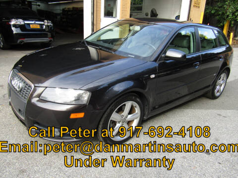 2008 Audi A3 for sale at Dan Martin's Auto Depot LTD in Yonkers NY