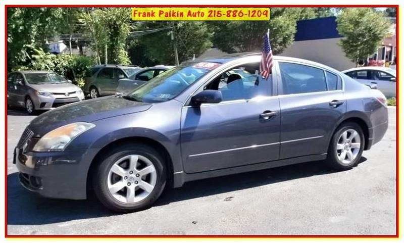 2007 Nissan Altima For Sale At Frank Paikin Auto In Glenside PA