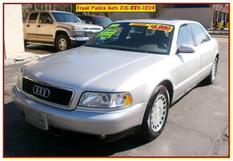 Audi A L Quattro In Glenside PA Frank Paikin Auto - 2001 audi