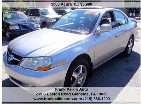 2003 Acura TL for sale in Glenside, PA