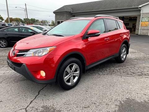 2015 Toyota RAV4 for sale at Bravo Auto Sales in Whitesboro NY