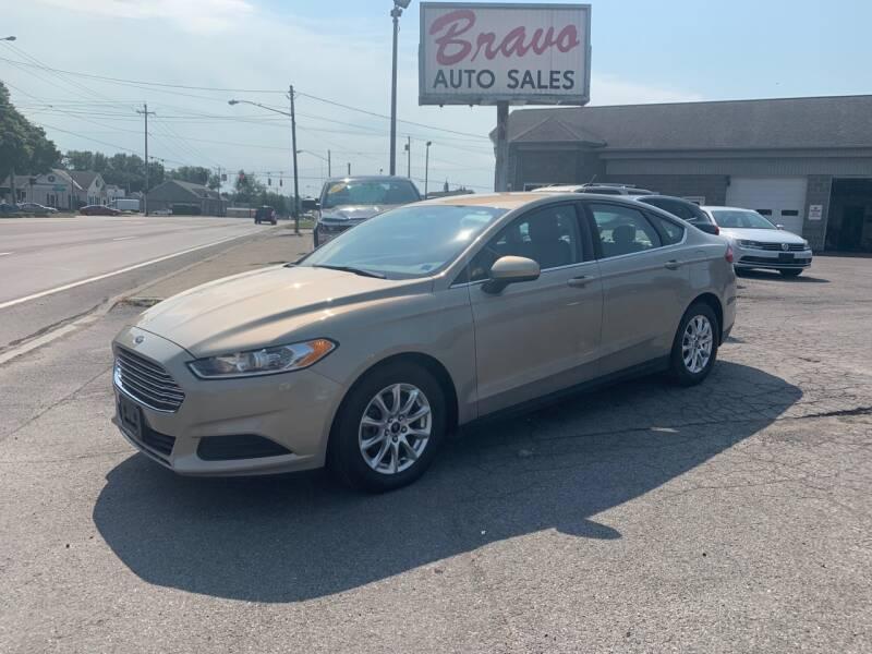2015 Ford Fusion for sale at Bravo Auto Sales in Whitesboro NY