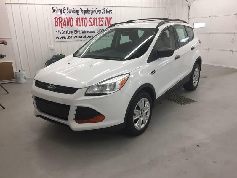 2013 ford escape s 4dr suv in whitesboro ny - bravo auto sales