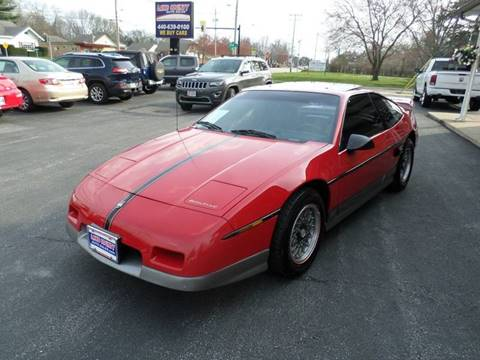 1986 Pontiac Fiero for sale in Painesville, OH