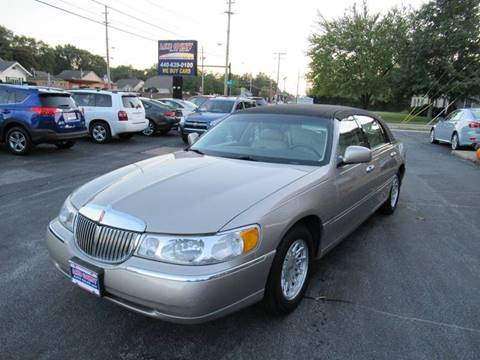1999 Lincoln Town Car For Sale Carsforsale Com