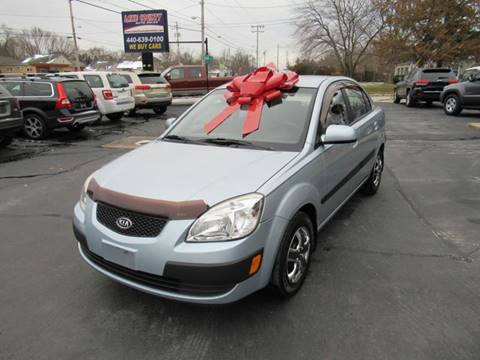 2008 Kia Rio for sale at Lake County Auto Sales in Painesville OH