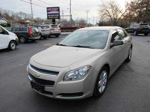 2011 Chevrolet Malibu for sale at Lake County Auto Sales in Painesville OH