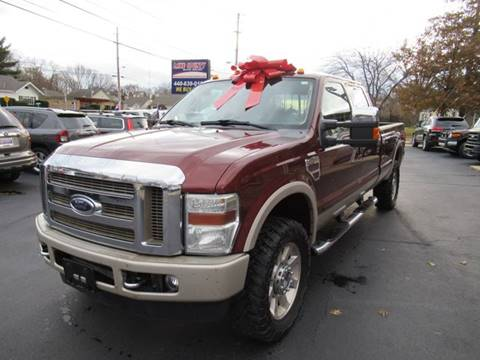 2008 Ford F-350 Super Duty for sale at Lake County Auto Sales in Painesville OH