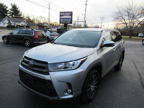 2017 Toyota Highlander for sale at Lake County Auto Sales in Painesville OH