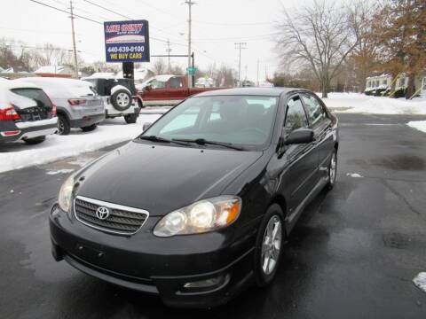 2008 Toyota Corolla for sale at Lake County Auto Sales in Painesville OH