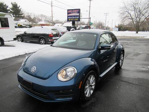 2017 Volkswagen Beetle for sale at Lake County Auto Sales in Painesville OH