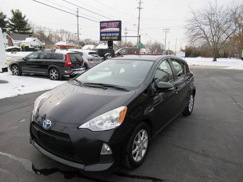 2013 Toyota Prius c for sale at Lake County Auto Sales in Painesville OH