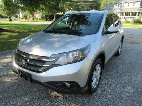 2012 Honda CR-V for sale at Lake County Auto Sales in Painesville OH