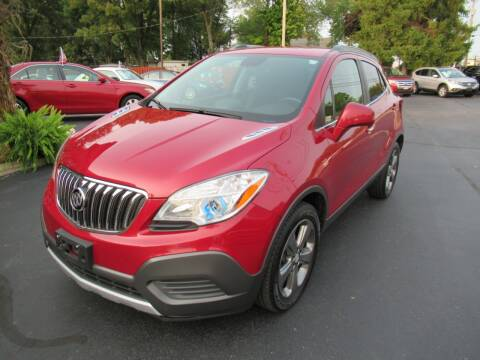2013 Buick Encore for sale at Lake County Auto Sales in Painesville OH