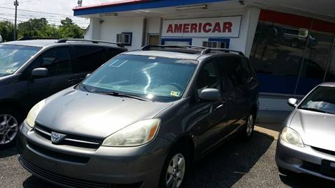 2005 Toyota Sienna for sale at Americar in Virginia Beach VA