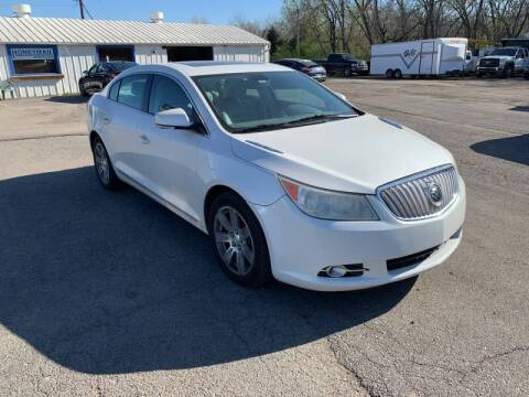 2010 Buick LaCrosse for sale at Ol Mac Motors in Topeka KS