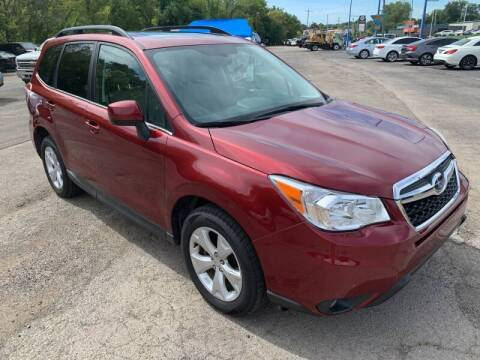 2014 Subaru Forester for sale at Ol Mac Motors in Topeka KS
