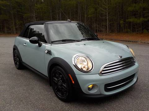 2013 MINI Convertible for sale in Alpharetta, GA