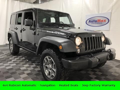 2018 Jeep Wrangler Unlimited for sale in Framingham, MA