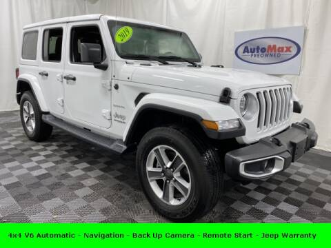 2019 Jeep Wrangler Unlimited for sale in Framingham, MA