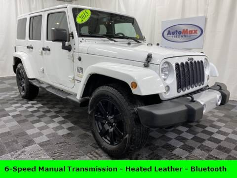 2015 Jeep Wrangler Unlimited for sale in Framingham, MA