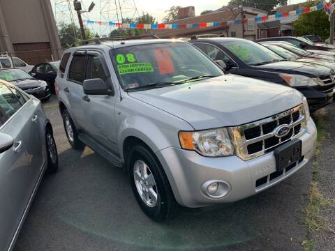 2008 Ford Escape for sale at Big T's Auto Sales in Belleville NJ