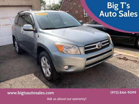 2006 Toyota RAV4 for sale at Big T's Auto Sales in Belleville NJ