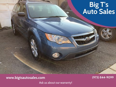 2008 Subaru Outback for sale at Big T's Auto Sales in Belleville NJ