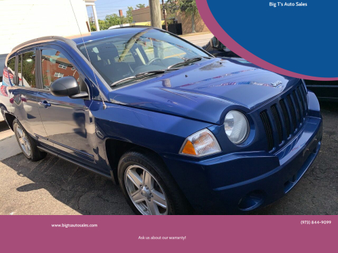 2010 Jeep Compass for sale at Big T's Auto Sales in Belleville NJ