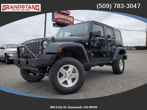 2008 Jeep Wrangler Unlimited for sale in Kennewick, WA
