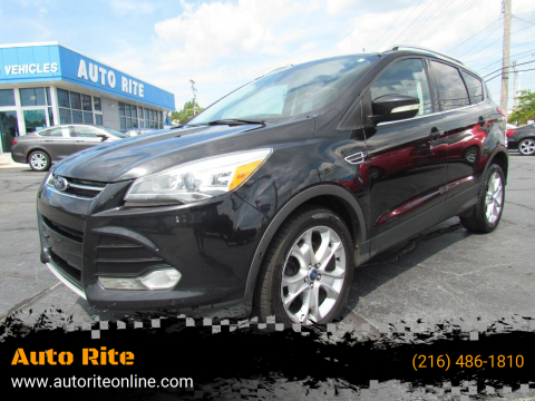 2014 Ford Escape for sale at Auto Rite in Cleveland OH