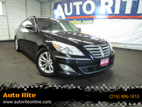 2013 Hyundai Genesis for sale at Auto Rite in Cleveland OH