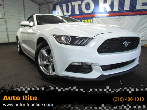 2015 Ford Mustang for sale at Auto Rite in Cleveland OH