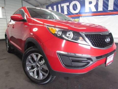 2015 Kia Sportage for sale at Auto Rite in Cleveland OH
