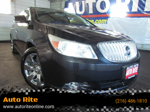 2011 Buick LaCrosse for sale at Auto Rite in Cleveland OH