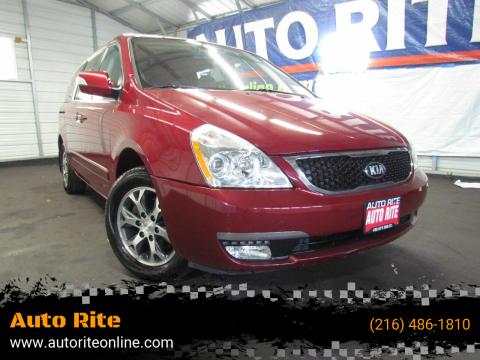 2014 Kia Sedona for sale at Auto Rite in Cleveland OH