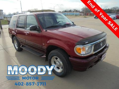 2001 Mercury Mountaineer for sale in Niobrara, NE