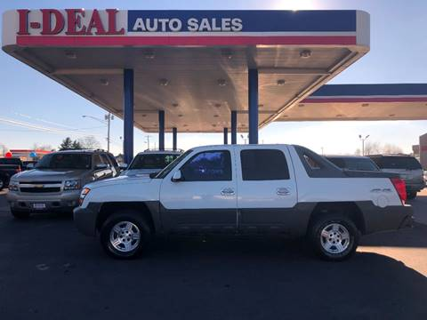 Chevrolet avalanche for sale in tennessee for Ideal motors maryville tn