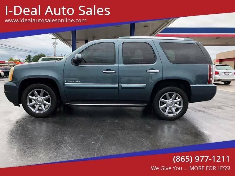 2007 Gmc Yukon Denali In Maryville Tn I Deal Auto Sales