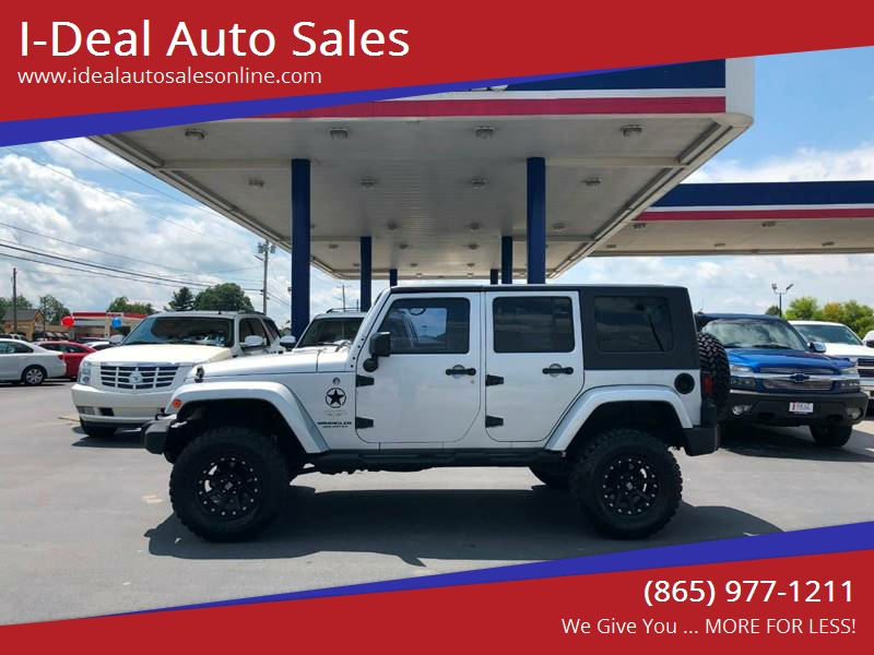 2008 Jeep Wrangler Unlimited For Sale At I Deal Auto Sales In Maryville TN